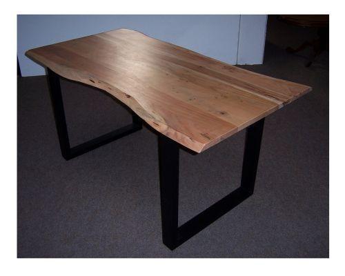 Esszimmertisch Esstisch Tisch Mit Baumkante 85 X 160 Cm Akazie