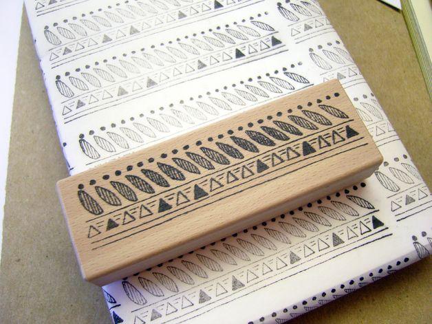 Stempel - Indie-Muster