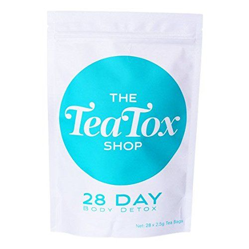 The TeaTox Shop - 28 Day Detox Tea: Weight Loss, Reduce Bloating, Body Cleanse and Appetite Suppressant, Organic Metabolism Booster Supplement