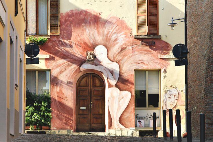 KALEJDOSKOP RENATY: Dozza - galeria sztuki na świeżym powietrzu