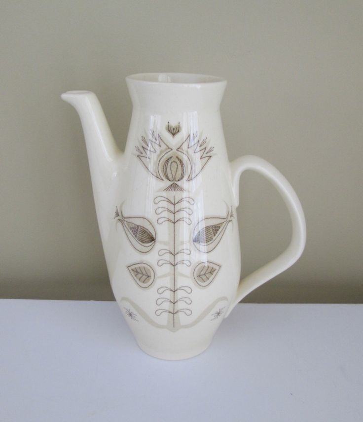 Franciscan Modern Pitcher - Spice by goodvintage on Etsy https://www.etsy.com/listing/178105628/franciscan-modern-pitcher-spice