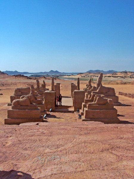 Templo de Wadi al Sebua. Egypt