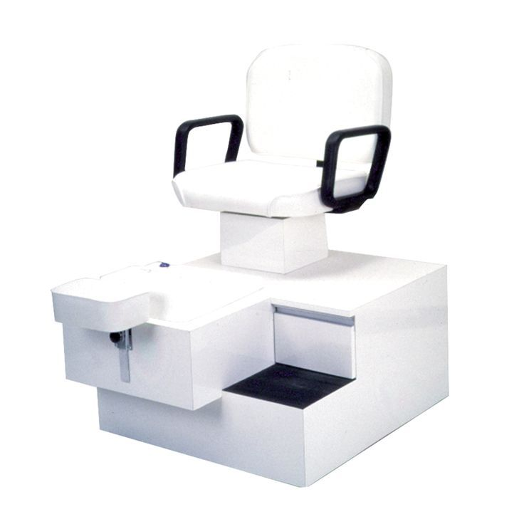 Compact and requires no plumbing! #esthetican The Pibbs White Pedicure Spa Unit features a convenient storage drawer and a pull-out foot bath that requires no plumbing.#ad