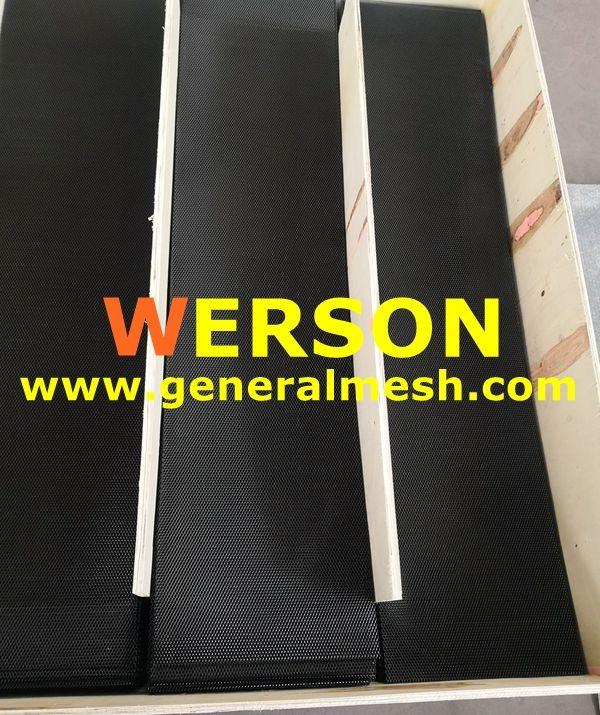 Black Universal Aluminium Racing Race Honeycomb Mesh Grill Material Aluminium Aperture 16 X 8 Mm 12 X 5 Mm 10 X 6 Mm 10 Aluminium Custom Grill Grilles