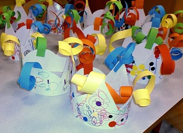 corones per aniversari per fer els infants