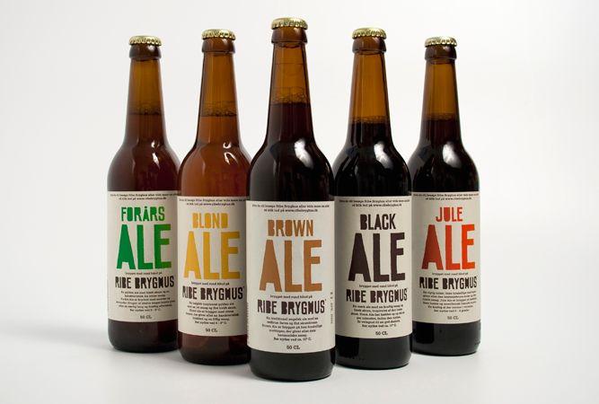 Ribe Micro Brewery  handmade beer  client: Ribe Bryghus