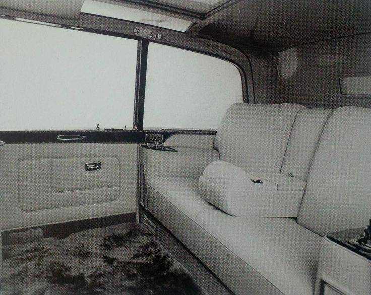 1977 High-roofed Oil Barrel Limousine by Mulliner Park Ward (chassis PGH101) for H.R.H. Queen Elizabeth II