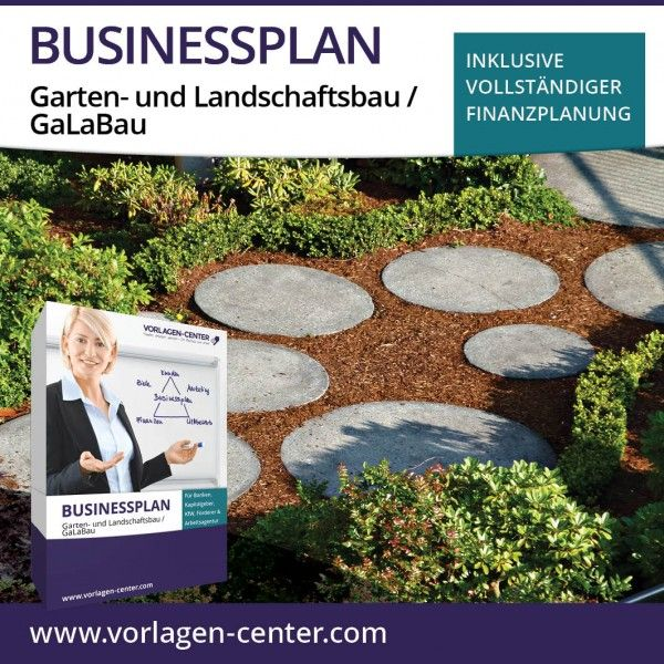 Businessplan Paket Garten Und Landschaftsbau Galabau Outdoor Outdoor Decor Stepping Stones