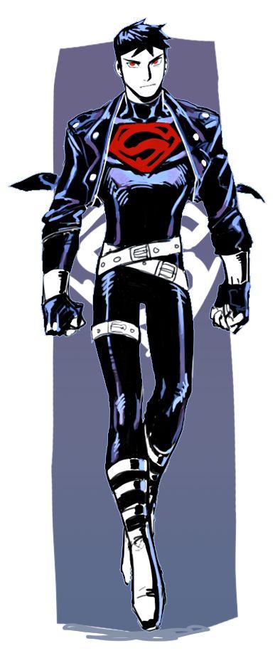 90s Superboy costume arrange ver by mejik