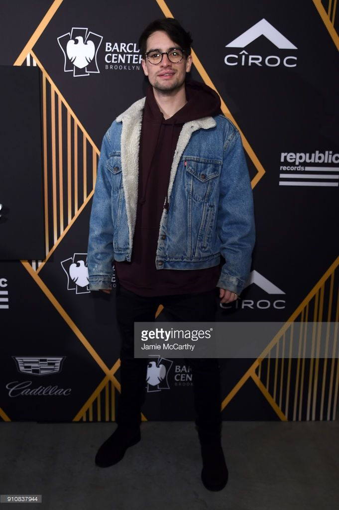 Singer Brendon Urieof Panic! at the Disco attends Republic Records Celebrates the GRAMMY Awards in Partnership with Cadillac, Ciroc and Barclays Center at Cadillac House on January 26, 2018 in New York City. (Photo by Jamie McCarthy/Getty Images for Republic Records)
