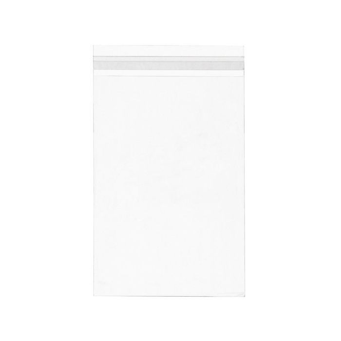 "At 6 3/16"" x 9"" our B69S bag is made to hold a single 6x9 envelope card/sheet. It is also ideal for displaying invitations, menus, or promotional flyers. 1.6 mil BOPP bag won't easily tear or wrinkle. Just peel and seal. Resealable adhesive is on flap. Acid-free and USPS Approved."