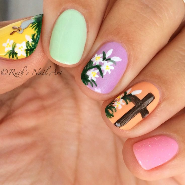 335 Best Images About Easter Nail Design On Pinterest