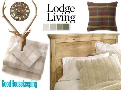 Blog Cabin Decor - Guest Room Decorating Ideas - Good Housekeeping