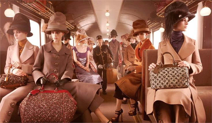 Louis Vuitton Campaign F/W 12/13: Louisvuitton, Louis Vuitton, Steven Meisel, Ads Campaigns, Marc Jacobs, Fall 2012, 2012 Campaigns, Fall Winter, Vuitton Fall