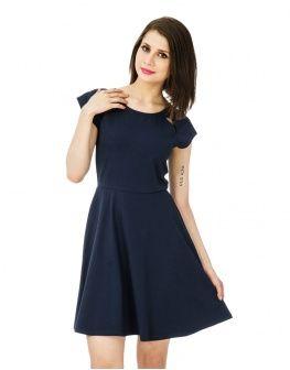 Navy Shy Gal Dress