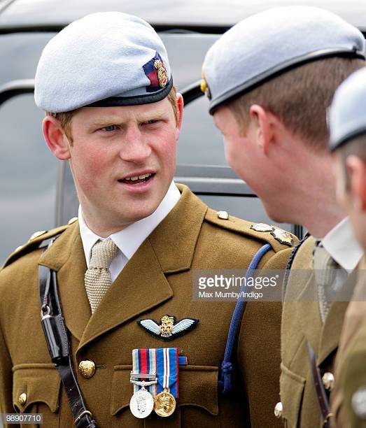 14++ Prince Harry Army Air Corps