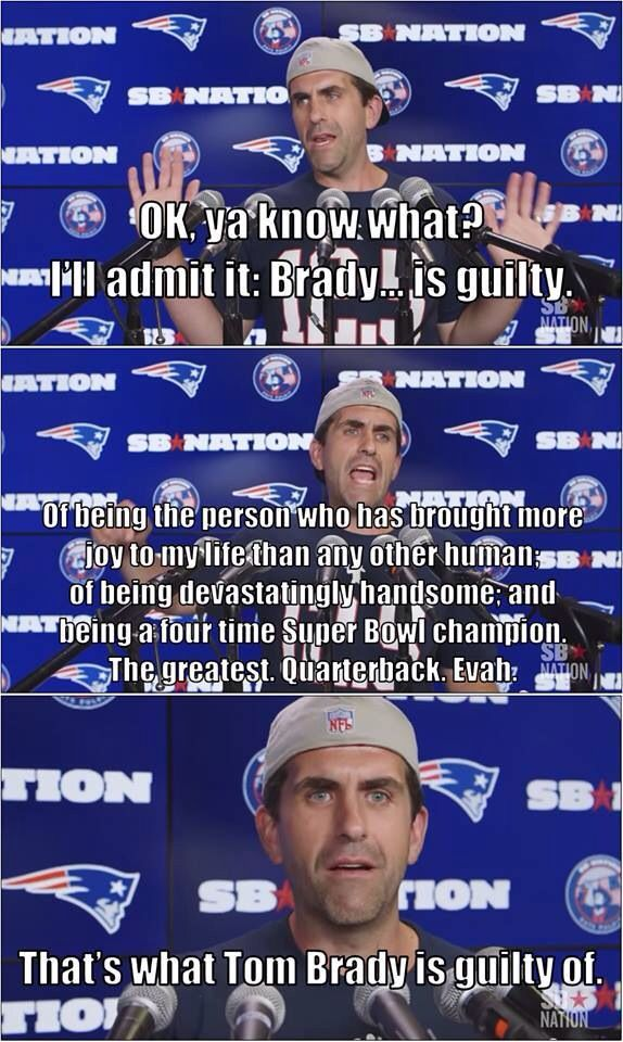 #PatsNation humor Fitzy tells it like it is
