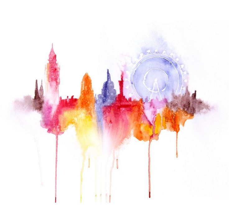 Travel The World's Most Exciting Cities In Vivid Watercolour! - Hand Luggage Only - Travel, Food & Home Blog