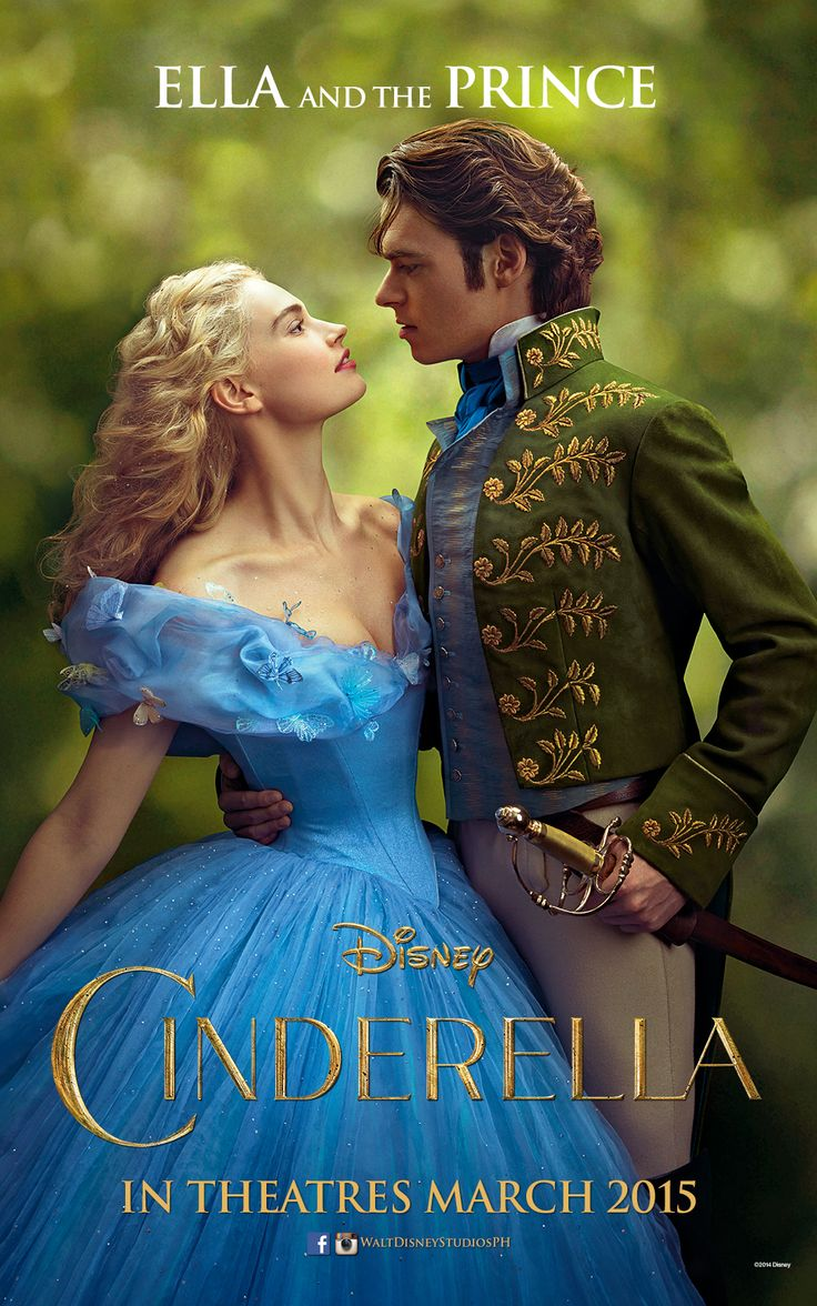 """""""Believe me, they're all looking at you.""""   Lily James is Ella & Richard Madden is The Prince. Cinderella opens in Philippine theatres March 2015."""