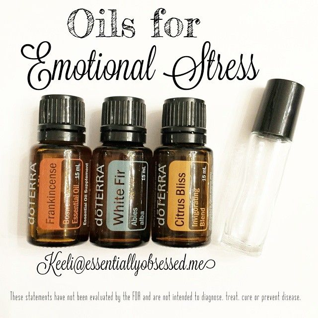 In a 10ml rollerball combine 15 drops Frankincense 15 drops White Fir 15 drops Citrus Bliss Top it with Fractionated Coconut Oil and roll over the bottom of the feet morning and night, down the neck and roll in your palms and cup over your face, inhale deeply, as needed.