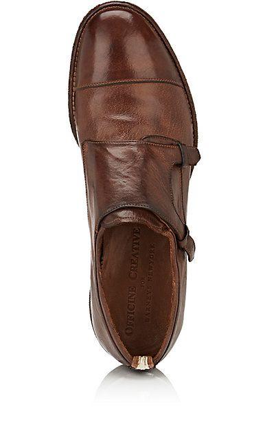 Officine Creative Princeton Leather Double-Monk-Strap Shoes - Monk Strap - 504932887