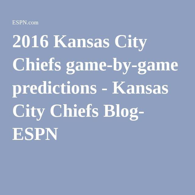 2016 Kansas City Chiefs game-by-game predictions - Kansas City Chiefs Blog- ESPN