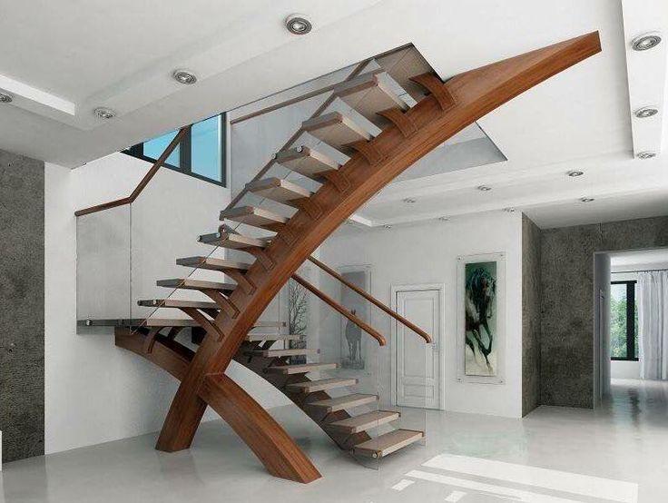 Bom dia! Escadas diferentes.  Pinterest:  http://ift.tt/1Yn40ab http://ift.tt/1oztIs0 |Imagem não autoral|