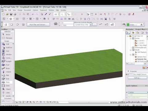 Mesh Tool in ArchiCAD - YouTube | A R C H I C A D | Pinterest | Verktyg, Watches och Youtube