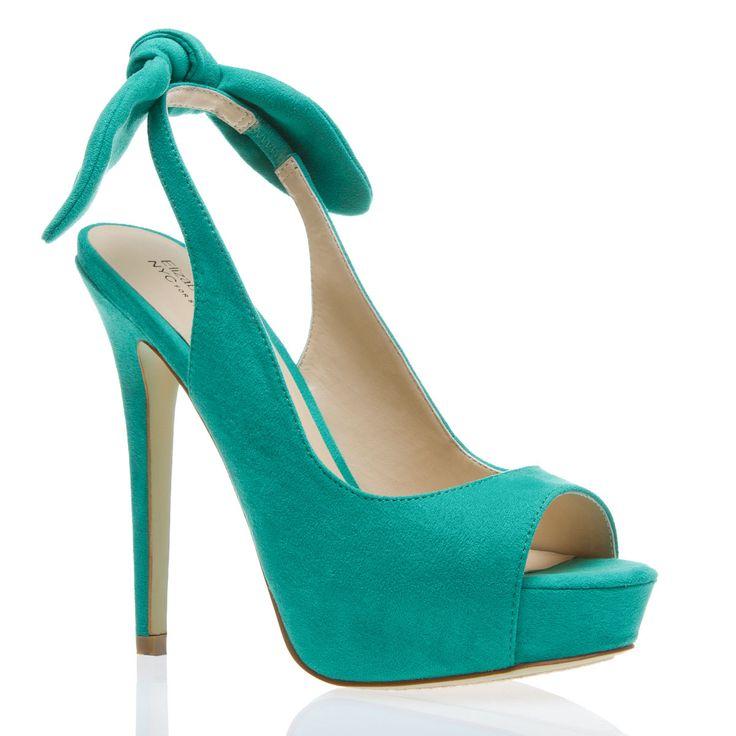 :}: Peep Toe, Summer Dress, Fashion, Style, Color, Pump, Bow, Shoes Shoes