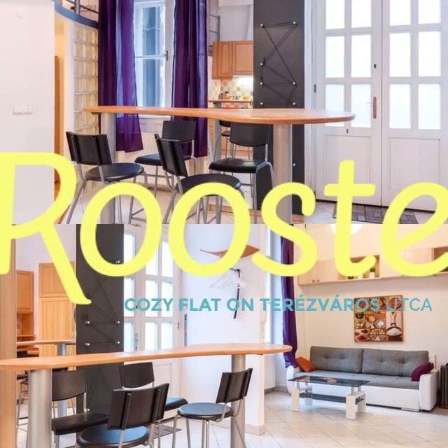 Cozy, fully-furnished, 2 bedroom flat on Terézváros Utca in central Budapest, just minutes from the Opera House, fashionable Andrássy út shops and fine dining. #airbnb http://www.rooste.co/oKX5c