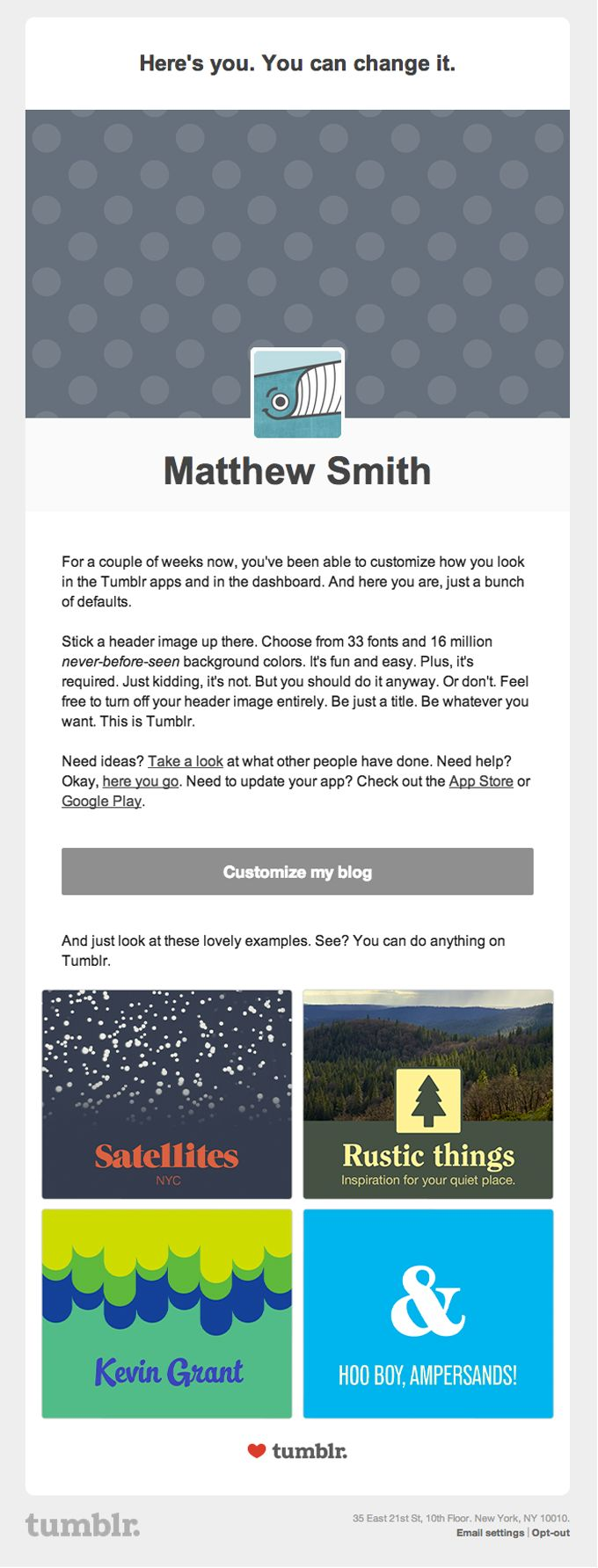 Product-Tour-Onboarding-Email-From-Tumblr
