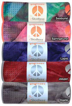 Skidless Yoga Towel  by Yogitoes | Barefoot Yoga Co.