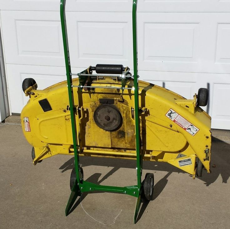 Deck Dolly for John Deere 300 Series Tractors - DeckDolly.com