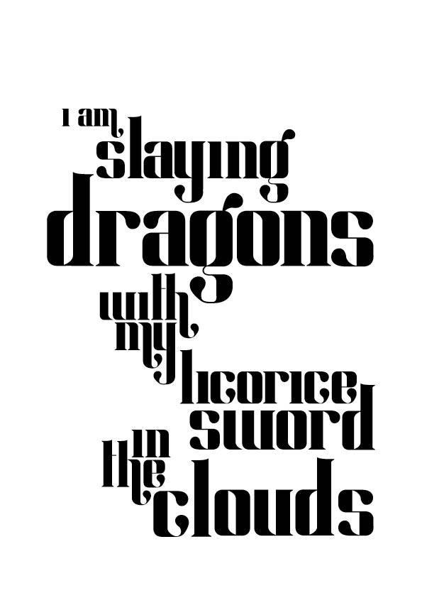 Hannah Morris, Olbdio typeface