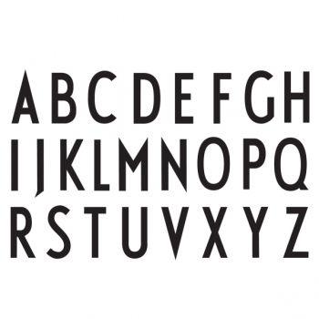 The master - Arne Jacobsen.  Typeface.