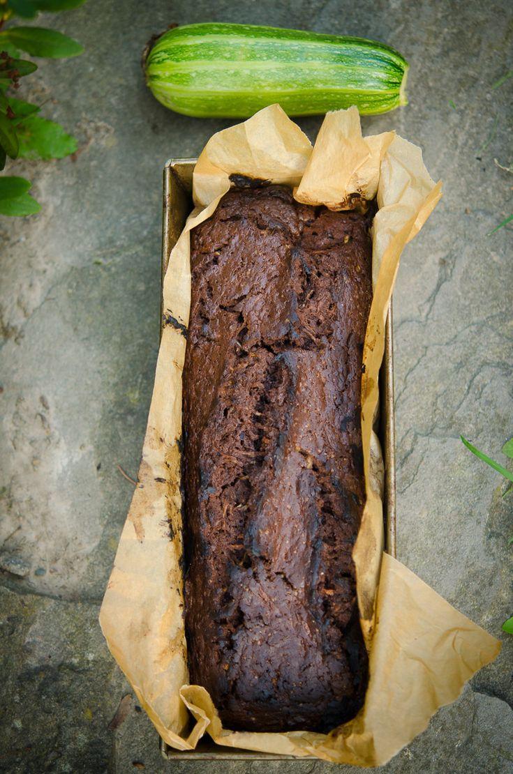 Czekoladowy chlebek cukiniowy | Klaudyna Hebda