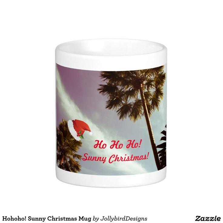 Hohoho! Sunny Christmas Mug #christmas #mug