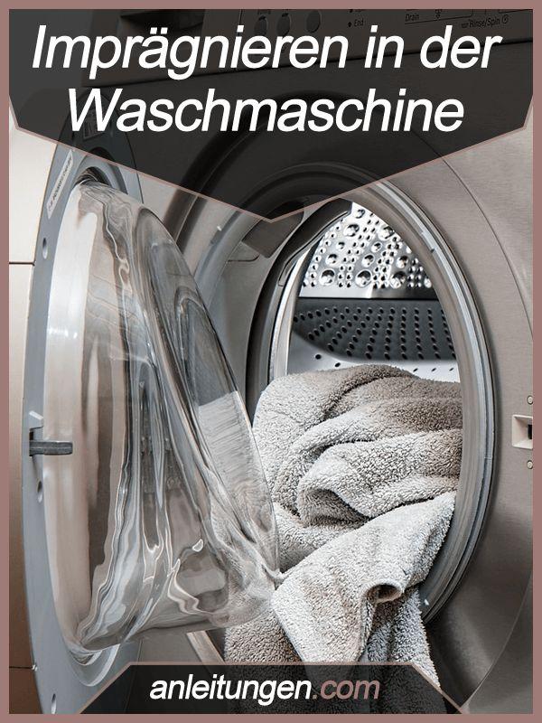 Imprägnieren in der Waschmaschine - Du möchtest mehrere Kleidungsstücke gleichzeitig imprägnieren? In dieser Anleitung erfährst du, wie du die Imprägnierung einfach in der Waschmaschine aufträgst.