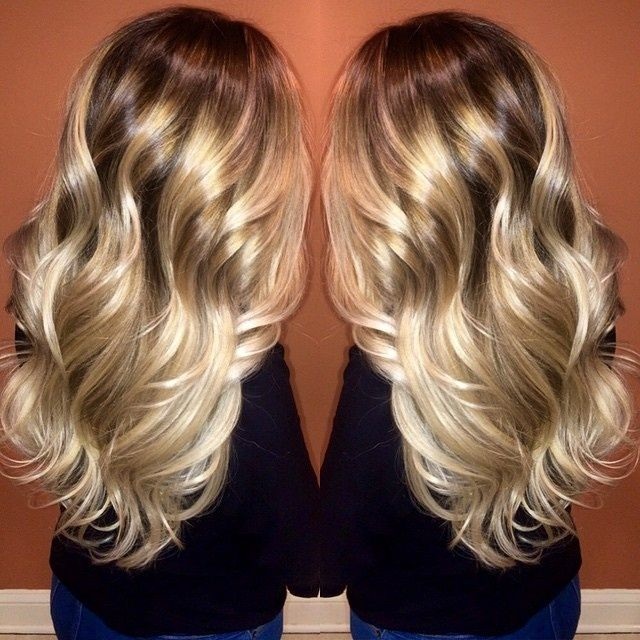 Dark Roots Balayage Google Search Hair Pinterest