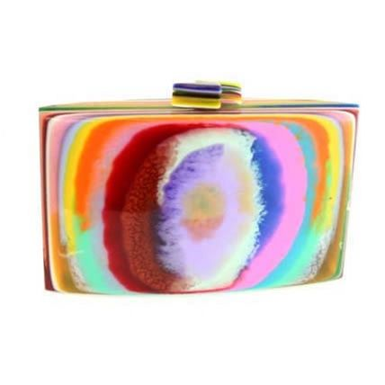 Tarsila Resin Hand Bag/Clutch by Sobral