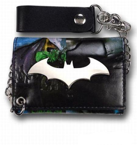 Billetera Batman. Joker Asilo Arkham