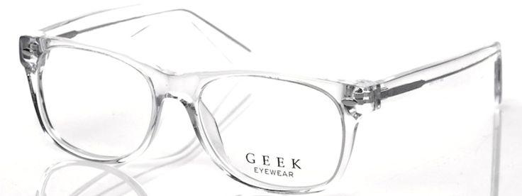 Clear Frame Geek RAD09 Glasses