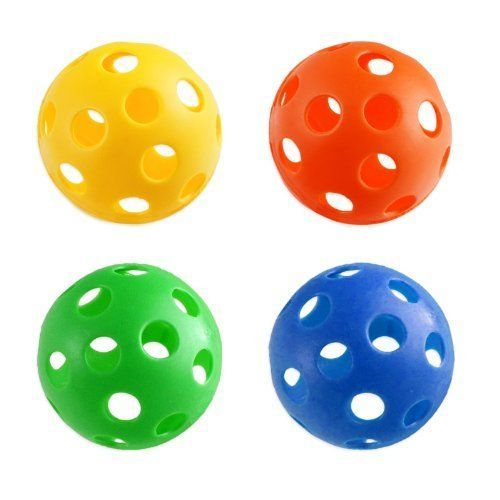Remember these? Plastic balls used at Junior School for P.E. lessons.