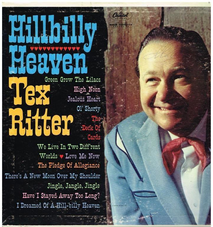 Annons på Tradera: Hillbilly Heaven Tex Ritter