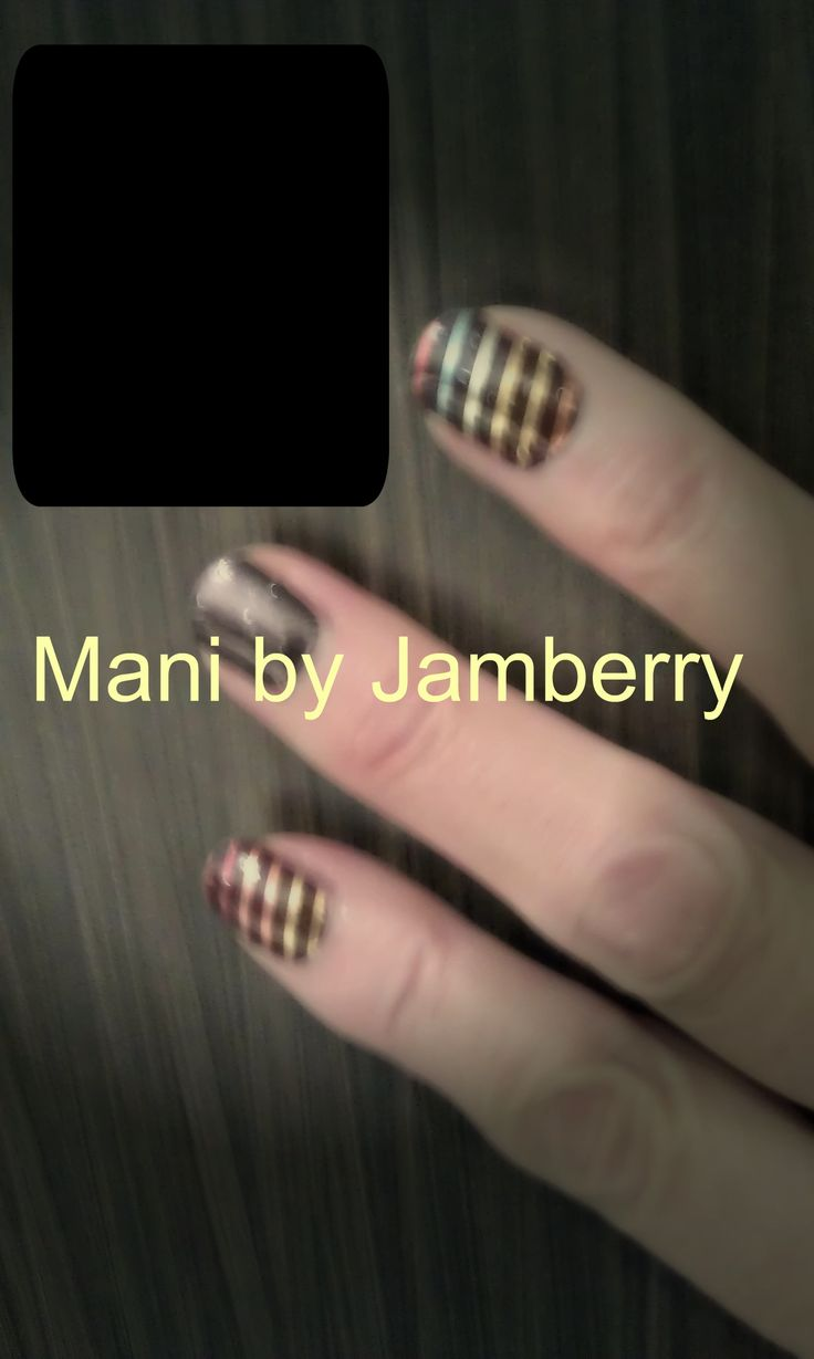 My Jamberry pin, first attempts at creating a pin of my nailfy,