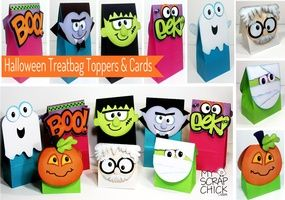 Halloween Treatbag Toppers & Cards: click to enlarge
