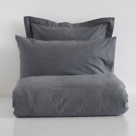 BIANCHERIA DA LETTO FLANELLA COLOR GRIGIO - Collezione - New Linen Collection | Zara Home Italia