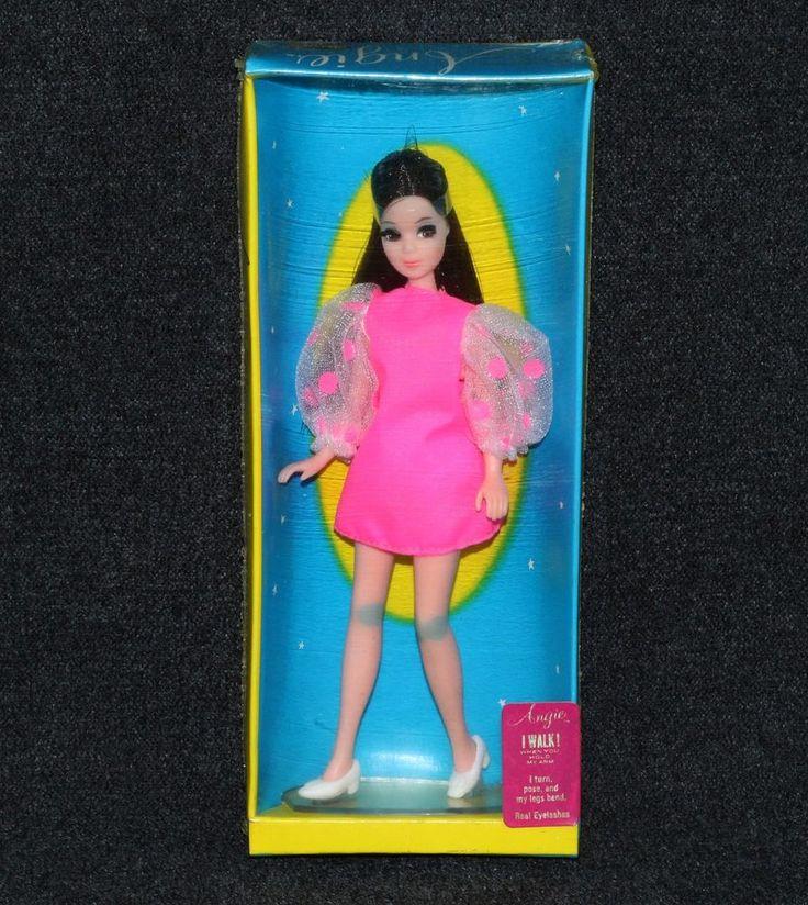 Dawn Doll 1970 Topper Angie 1st Issue Hot Pink Mini MIB    eBay