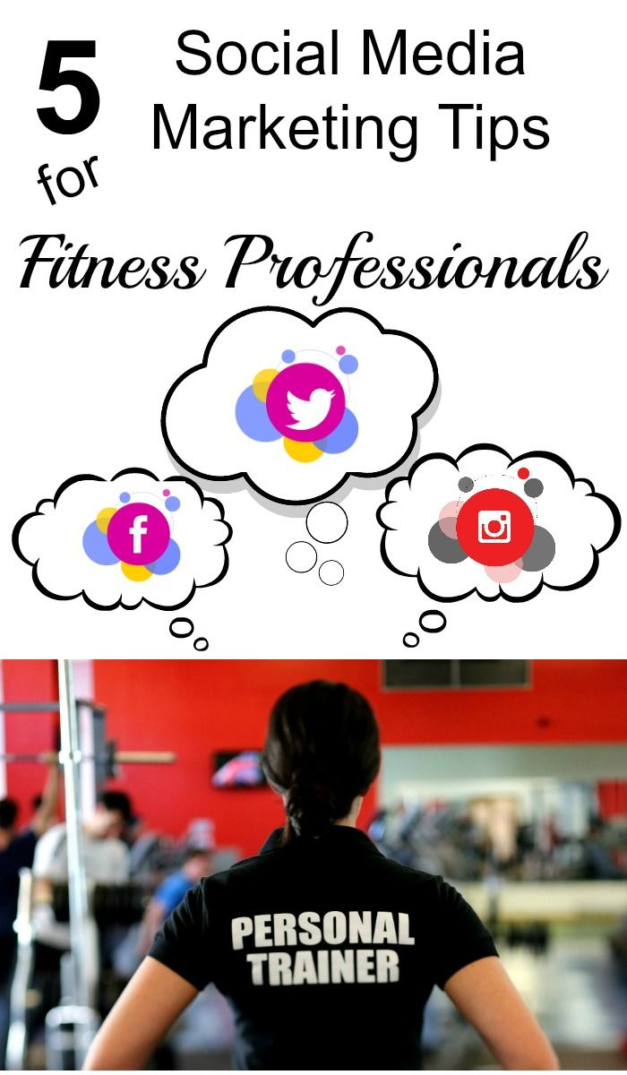 Many fitness professionals, including personal trainers, coaches, yoga instructors, and others in the fitness industry know that social media marketing can help their business but don't know where to start. Here are some tips.