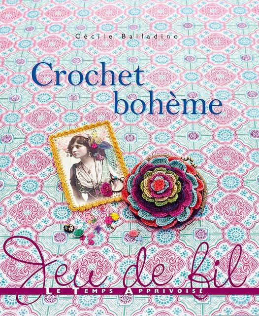 "Mon livre ""Crochet Bohème"" by eclectic gipsyland, via Flickr"
